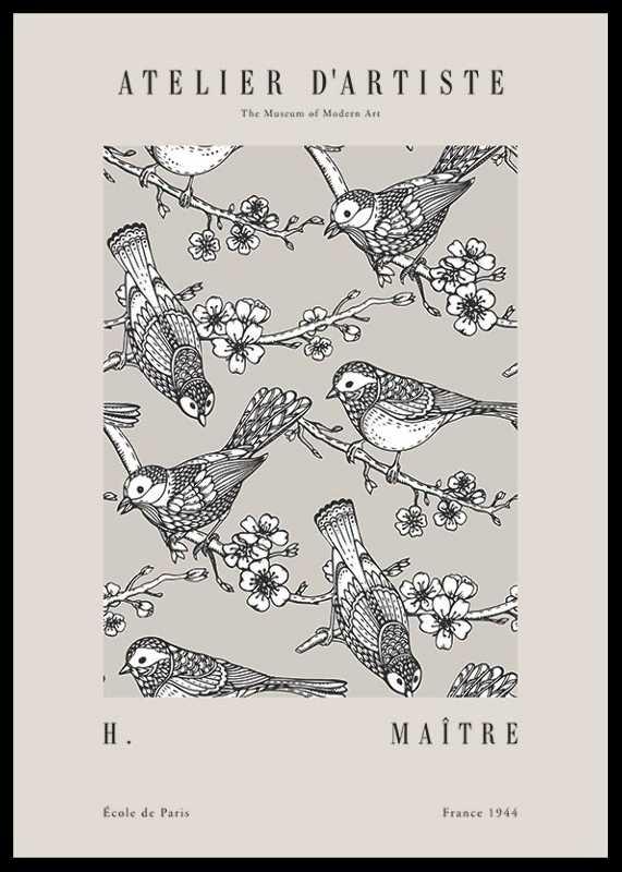 Matisse Oiseaux De Jardin-0