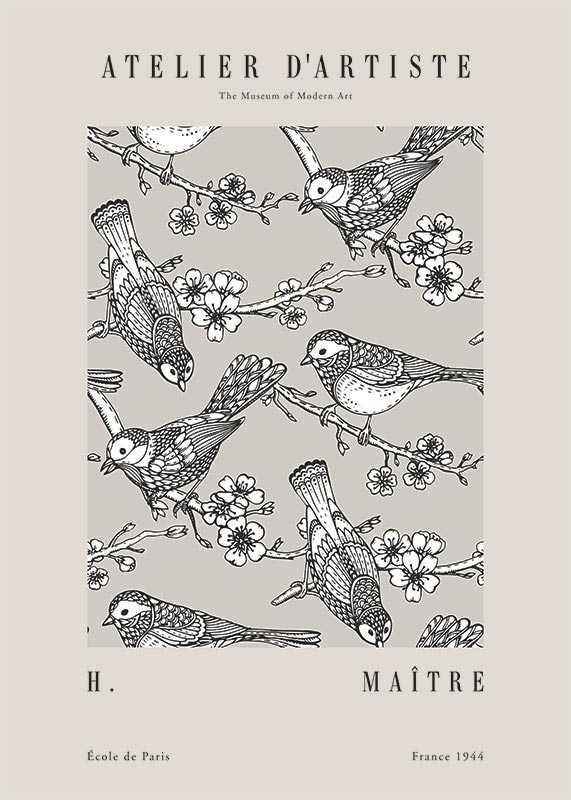 Matisse Oiseaux De Jardin-1