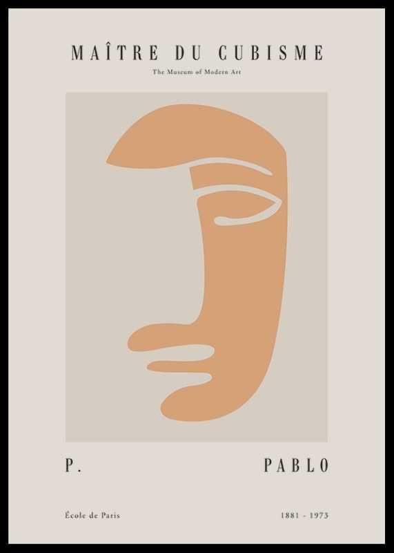 Picasso Maitre Du Cubisme No3