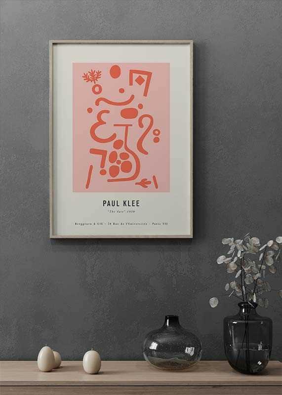 Paul Klee The Vase-2
