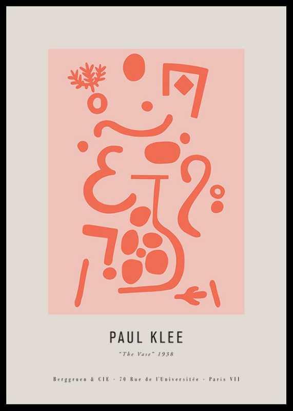 Paul Klee The Vase-0