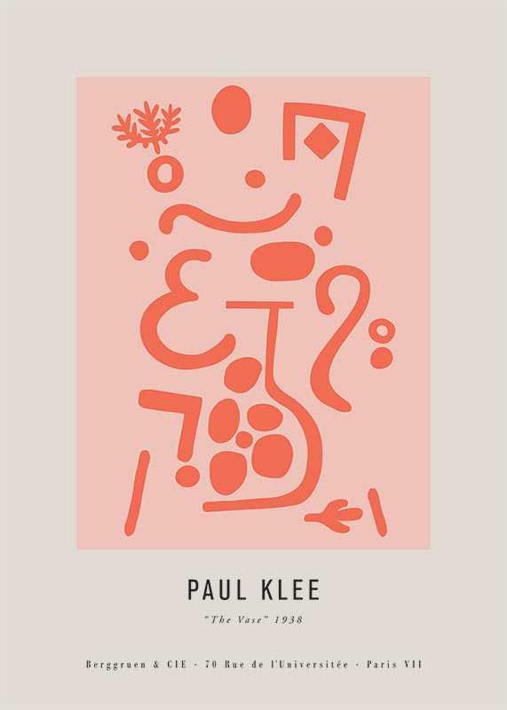 Paul Klee The Vase-1