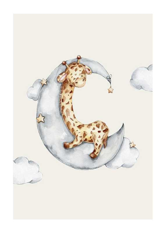 Sleeping Giraffe-1