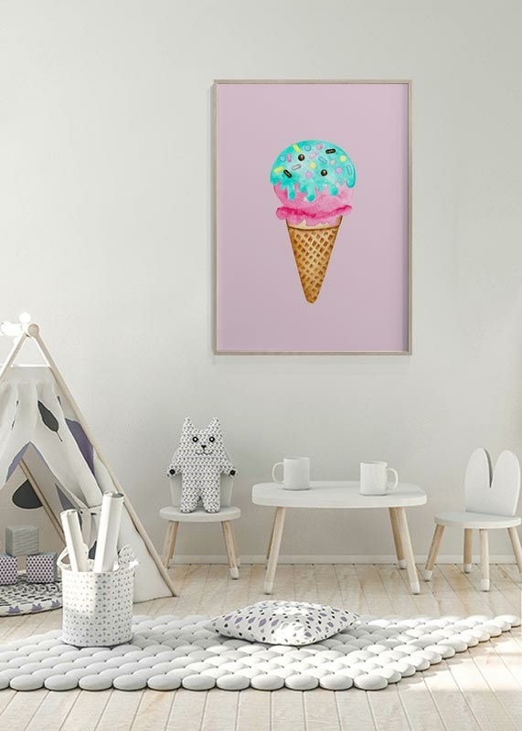 Ice Cream In Pink-4