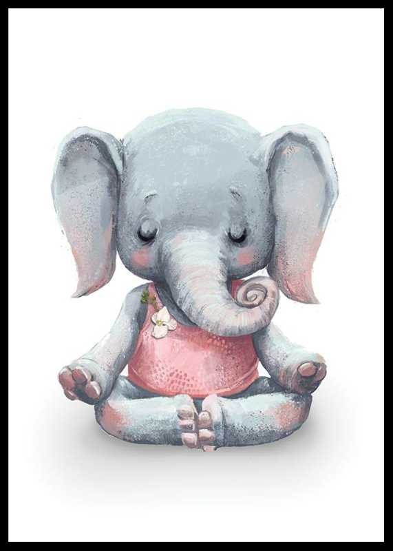 Yoga Elephant-0
