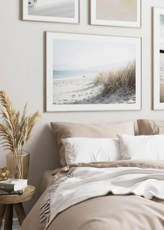 Marram Grass At Beach-4